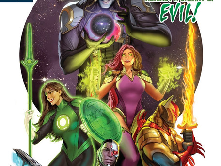 Justice League Odyssey #1 Review