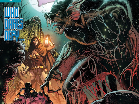 Justice League Dark #7 Review - Tales From The Darkside...