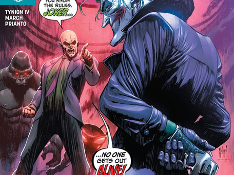 Justice League #13 Review - Playing the Joker is Like Playing Yourself