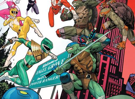 Mighty Morphin Power Rangers/Teenage Mutant Ninja Turtles #2 Review - Best Crossover Ever?