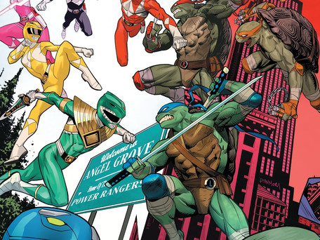 Mighty Morphin Power Rangers/Teenage Mutant Ninja Turtles #2 Review - Best Crossover Ever?