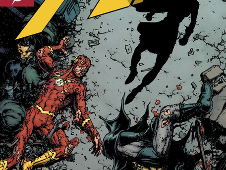 The Flash #64 Review - Batman Doesn't Human Very Well
