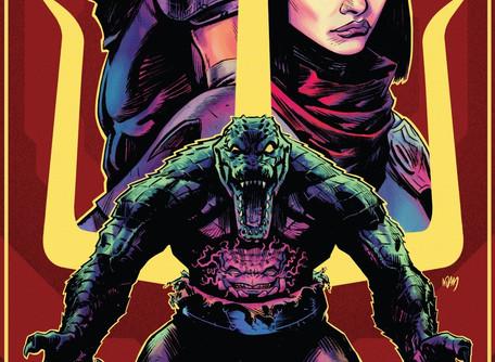 Teenage Mutant Ninja Turtles 2020 Annual Review - Poor Leatherhead