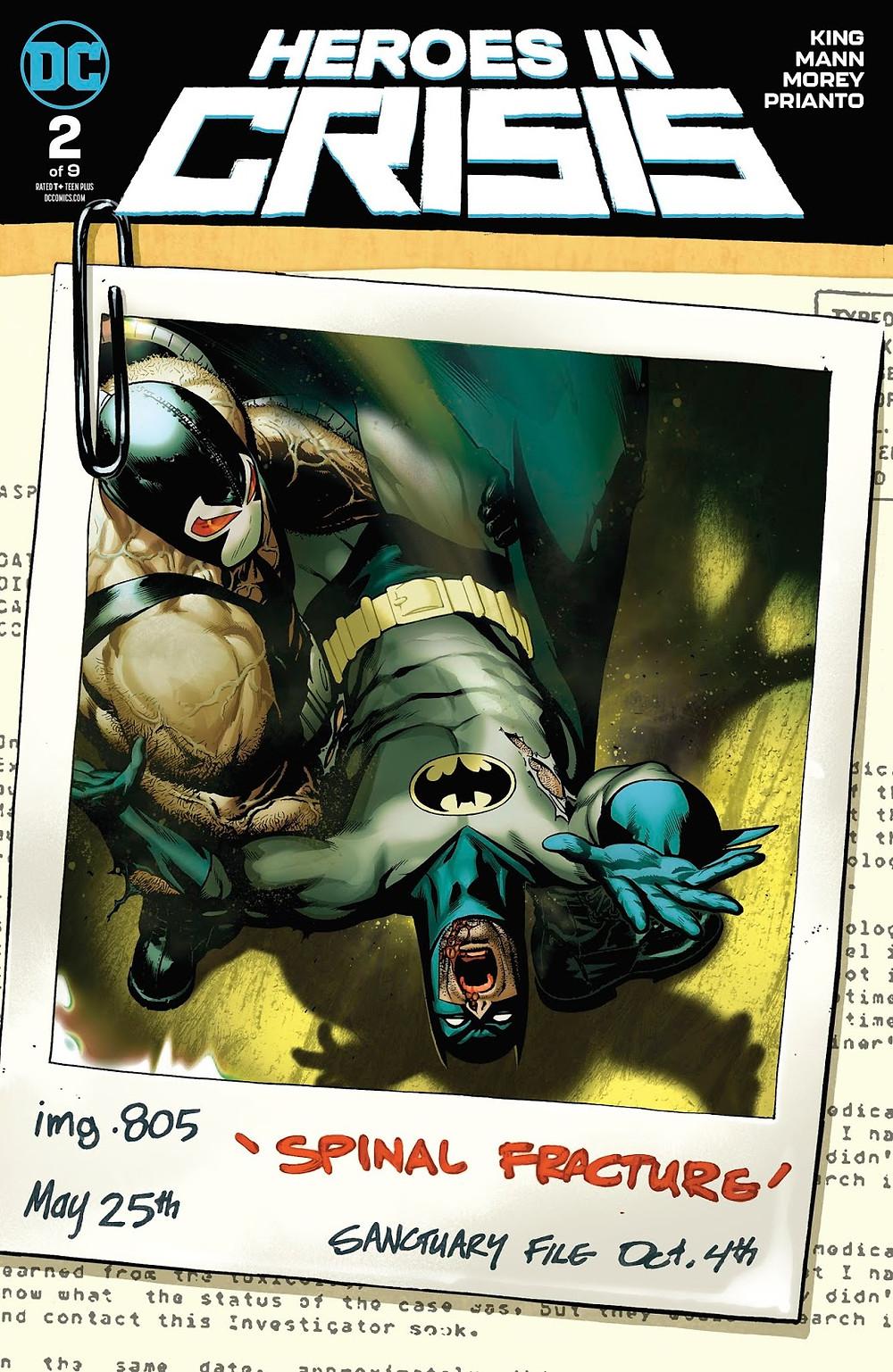 Heroes in Crisis Variant Cover by Ryan Sook