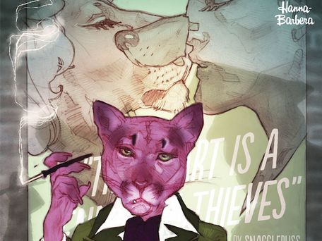 EXIT STAGE LEFT: THE SNAGGLEPUSS CHRONICLES #2 REVIEW/ANALYSIS
