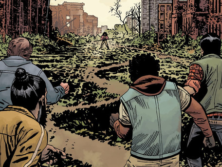 The Walking Dead #188 Review - Man and the Inevitability of War
