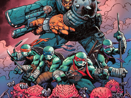 Teenage Mutant Ninja Turtles #86 Review - War Declared on Burnow Island