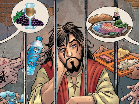 Second Coming #4 Review - The Comic Equivalent of a Cucumber Sandwich