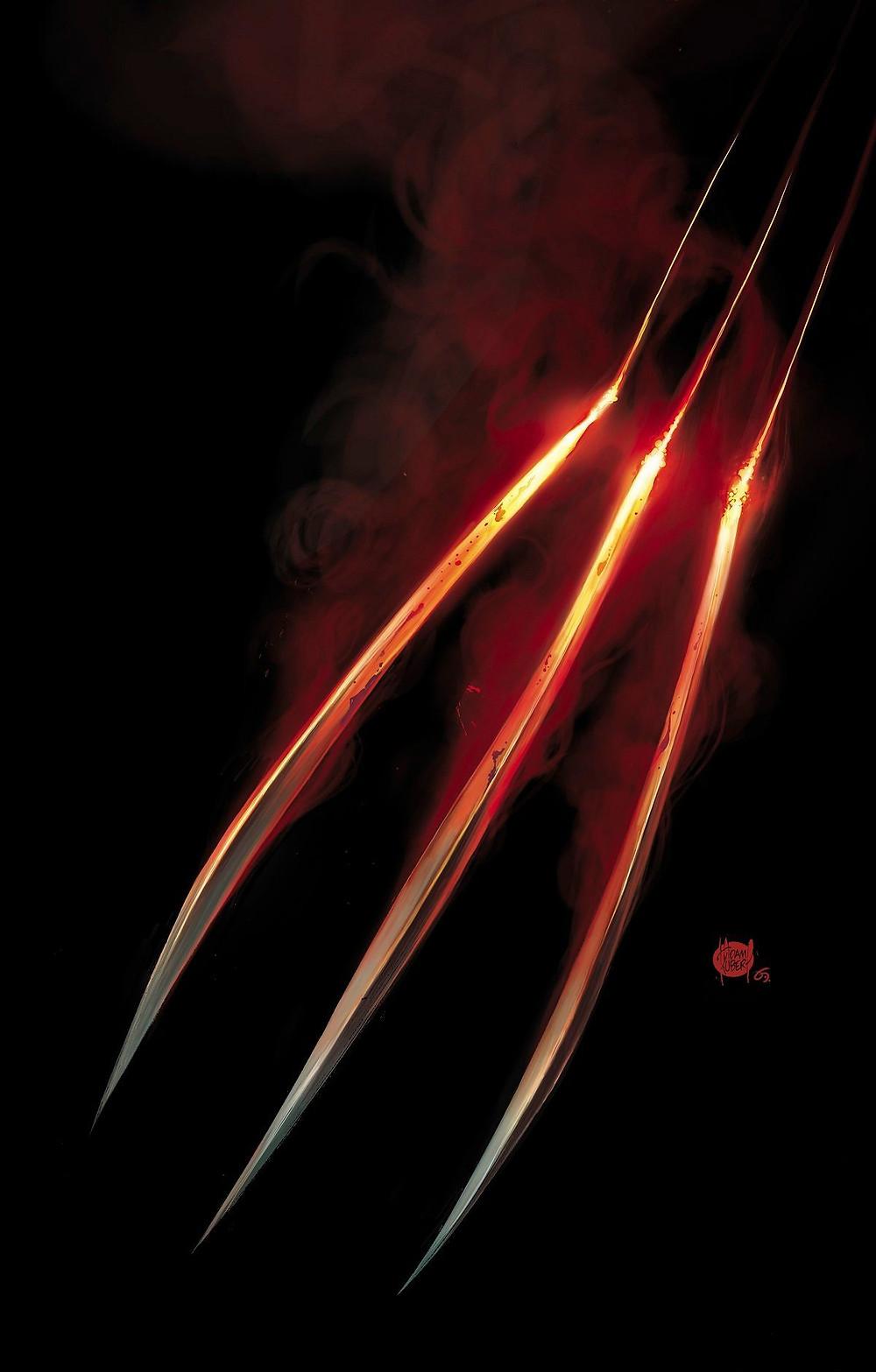 Wolverine Promo Image by Adam Kubert