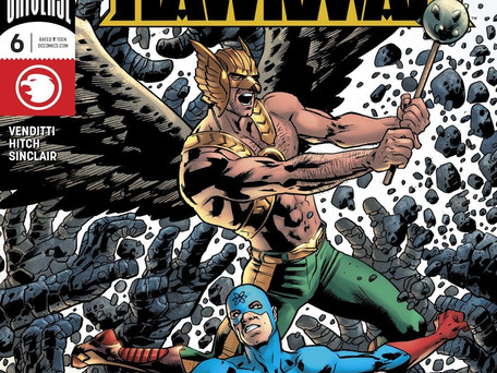 Hawkman #6 Review - Hawkman & Atom Against a Planet