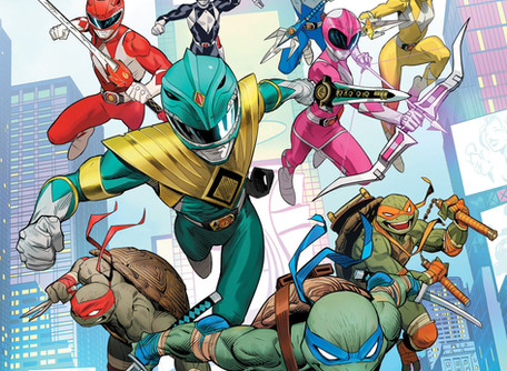 Mighty Morphin Power Rangers/Teenage Mutant Ninja Turtles #1 Review - A Match Made in Heaven