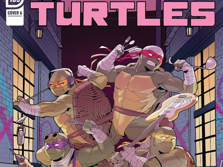 Teenage Mutant Ninja Turtles #109 Review - Not Sure What's Going On But I Don't Like It?