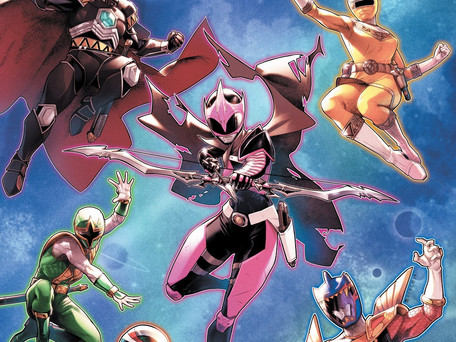 Mighty Morphin Power Rangers #31 Review - Lost in Space Featuring The Power Rangers