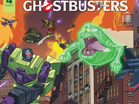 Transformers/Ghostbusters: Ghost of Cybertron #4 Review - Mini-series shouldn't feel this padded