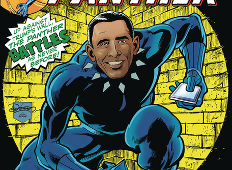 Jingoist Action Featuring The Barack Panther #1Review - One of the strangest comics I have ever read