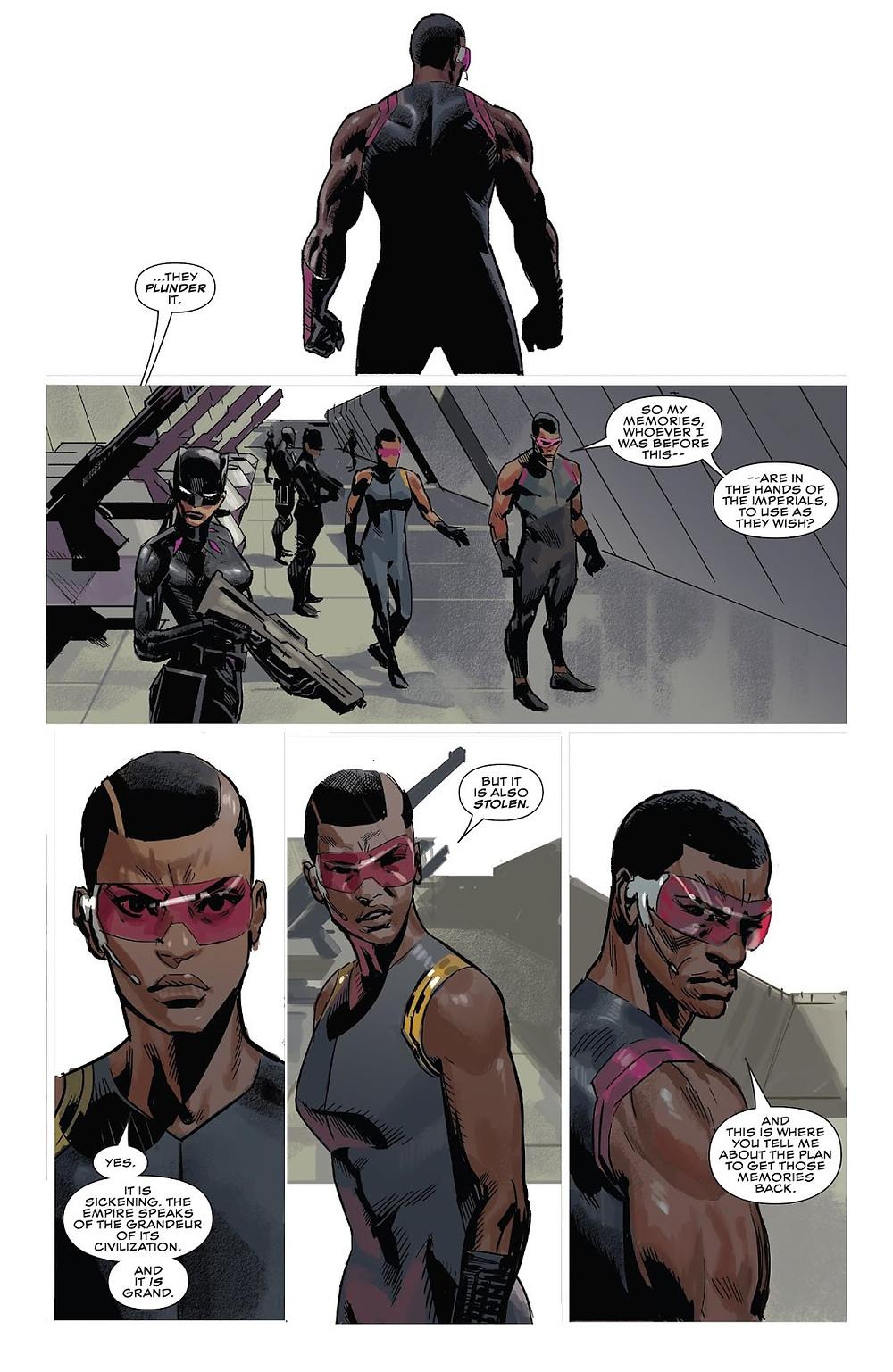 Black Panther #3 Ta-Nehisi Coates & Daniel Acuna