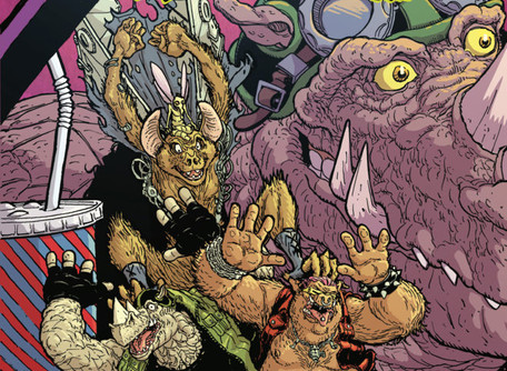 TMNT: Bebop & Rocksteady Hit the Road #1 Review/Analysis