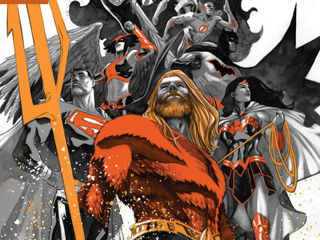 Justice League #10 Review                      Drowned Earth Prelude