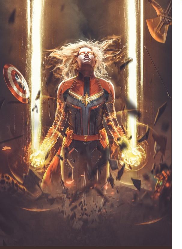 Captain Marvel by Bosslogic, Inc.