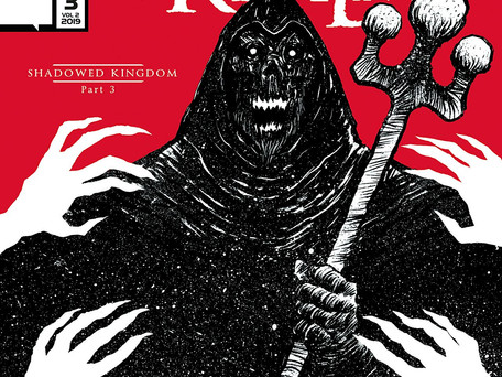 Blood Realm: Shadowed Kingdom  #3 (of 3) Review - Into the Mouth of Madness