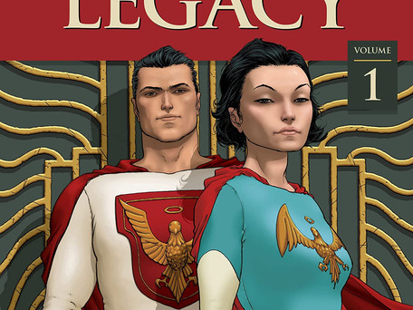 Jupiter's Legacy Vol: 1 Review - A Dirty Ménage à Trois Between Watchmen, Marvels, and Astro City