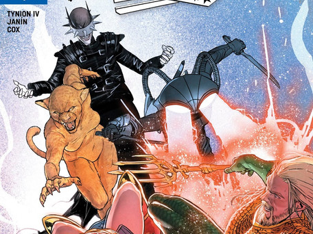 Justice League #8 Review