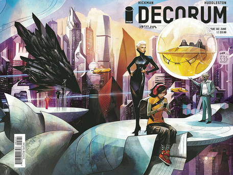 Decorum #2 Review - Powers of X, A Space Odyssey (Spoilers)