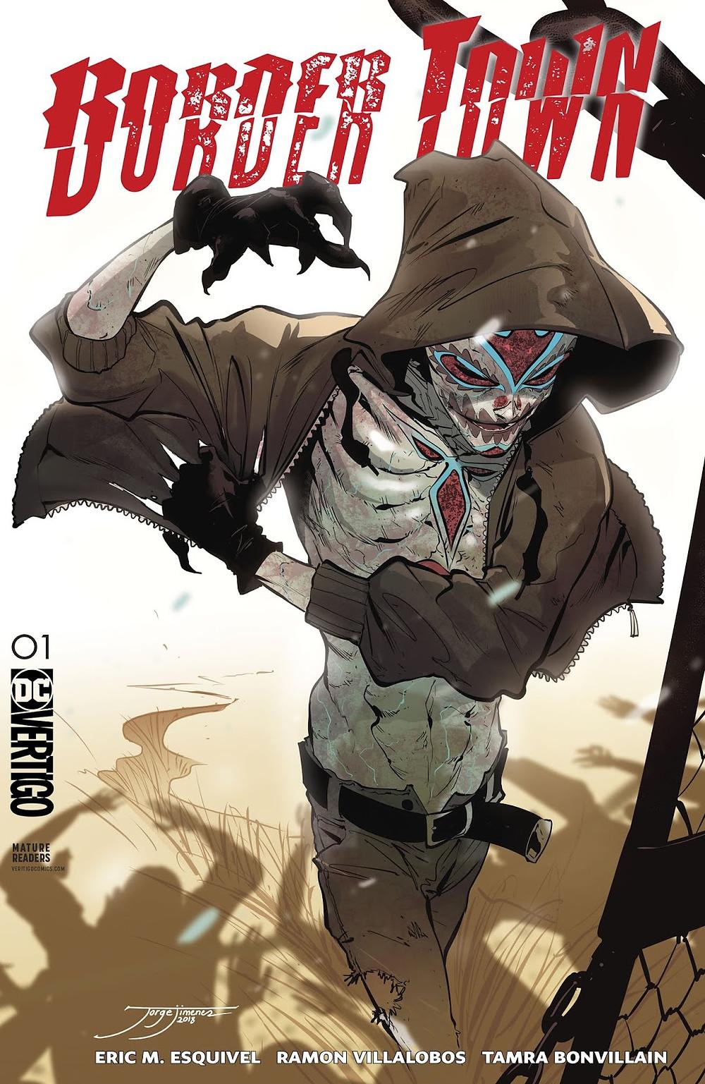 Bordertown #1 Variant Cover by Jorge Jimenez