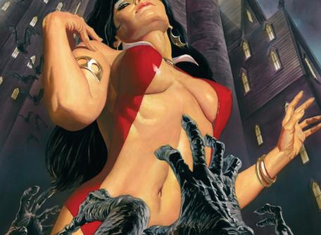 Vampirella #1 Review - Half Naked Vampires Walking around in the Real World