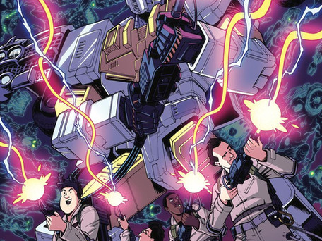 Transformers/Ghostbusters: Ghost of Cybertron #3 Review - This is Where The Fun Starts