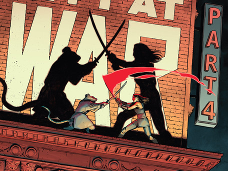 Teenage Mutant Ninja Turtles #96 Review - How will Splinter Get out of this Alive...