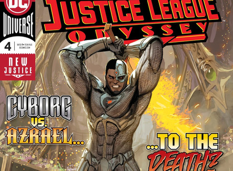Justice League Odyssey #4 Review- Decompression is Killing Comics