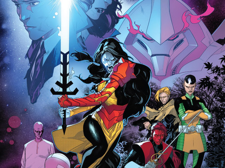 Powers of X #1 Review - Jonathan Hickman A.K.A The X-Men's Dungeon Master