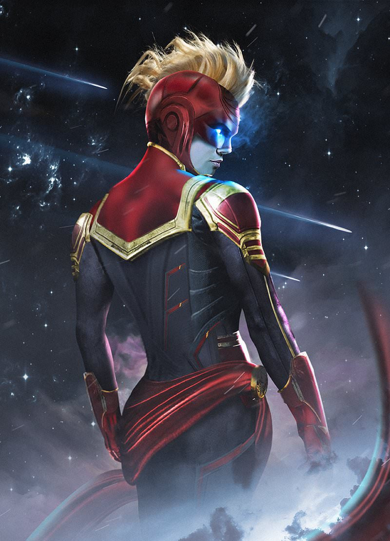 Captain Marvel by BossLogic