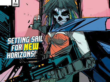Scrimshaw: Tears of the Sonoran Sea #1 (of 4)  Review