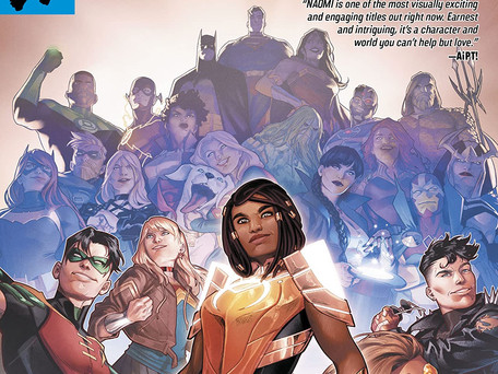 Naomi #6 Review - Behold!!! The Six Issue One-Shot