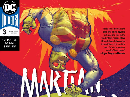 Martian Manhunter #3 Review - The Skinwalker Revealed...