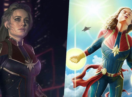 Garbage Opinions: Captain Marvel is Amazing but her personality sucks.