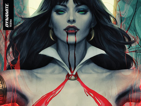 Vampirella #2 Review -  Extraterrestrials are Beyond Racism