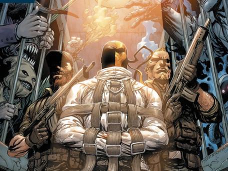 Deathstroke #36 Review         Arkham Part 1