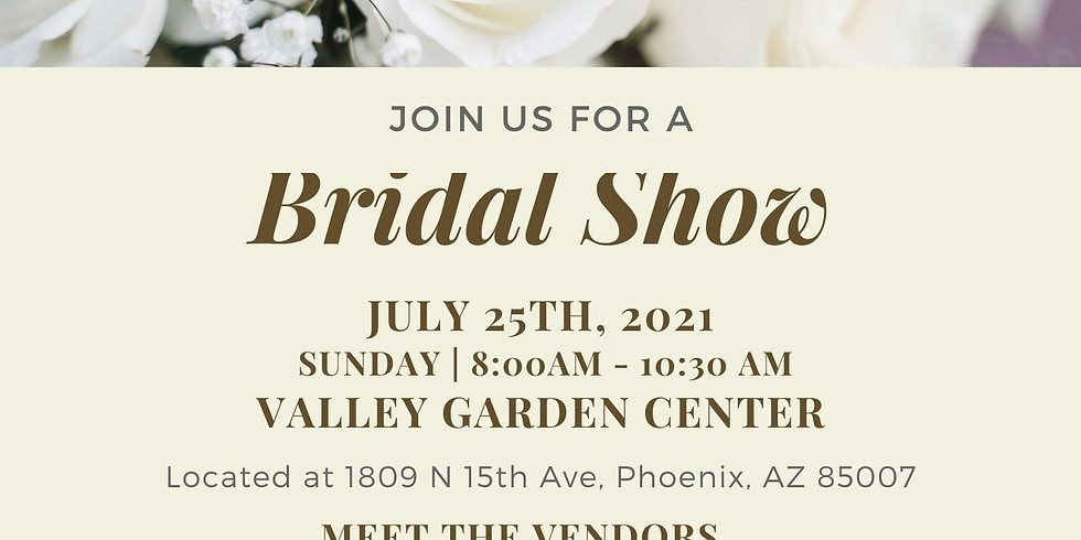 Bridal Show / Open House - July 25th, 2021