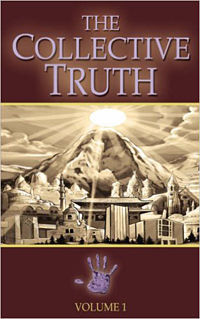 The Collective Truth Book by artist Mano Sotelo
