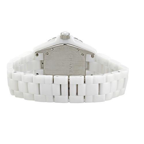 a9acabc649a28 Chanel J12 Graffiti - 38MM - White Ceramic and Steel Bracelet - H5240