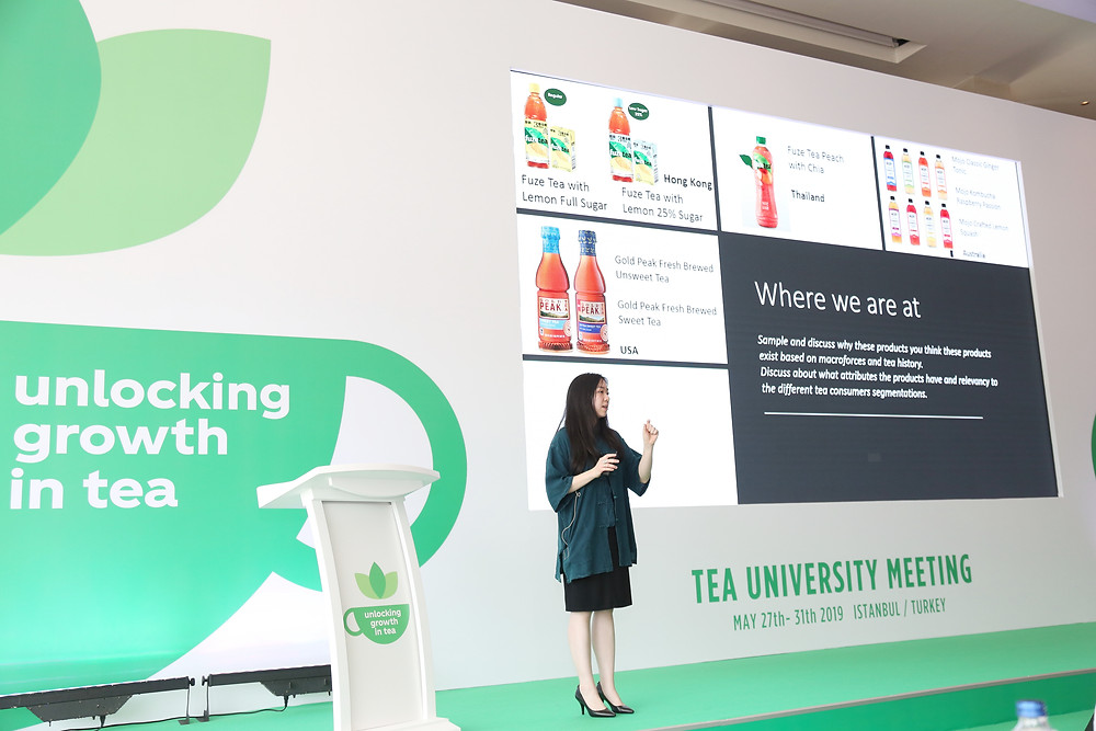 Fun times speaking at our Global Tea Conference in Turkey