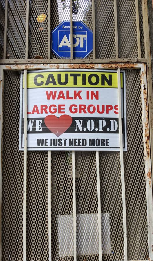 WE LOVE NOPD