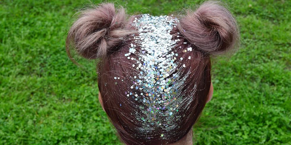 Pre-Sale Braids or Buns + Glitter - BUKU
