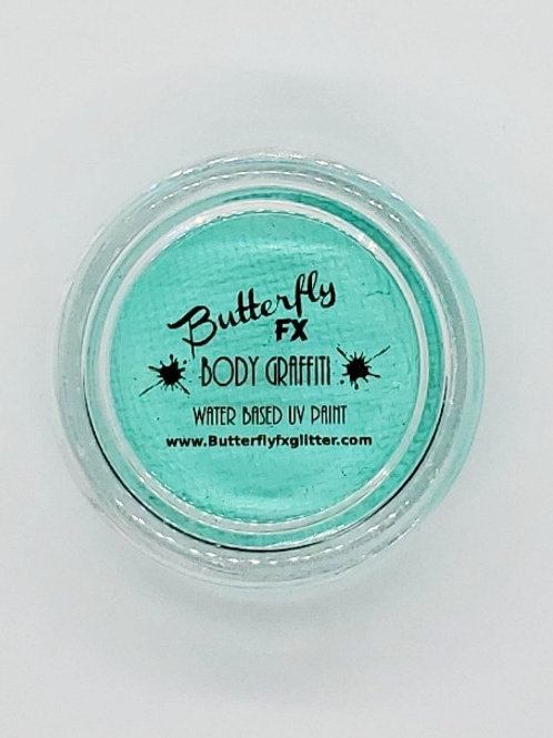 Body Graffiti - Neon Pastel Turquoises