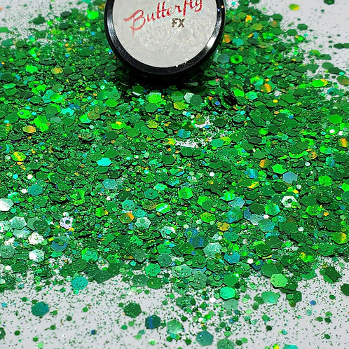 Green Monster Chunky Glitter