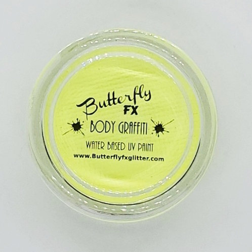 Body Graffiti - Neon Pastel Yellow