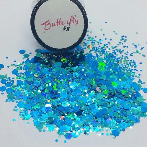 Caribbean Wave Chunky Glitter